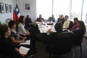 Reunion del HCHC con el cuerpo consular latinoamericano en Toronto