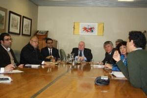 Reunion del HCHC con Comite Organizador de los Juegos Panamericanos