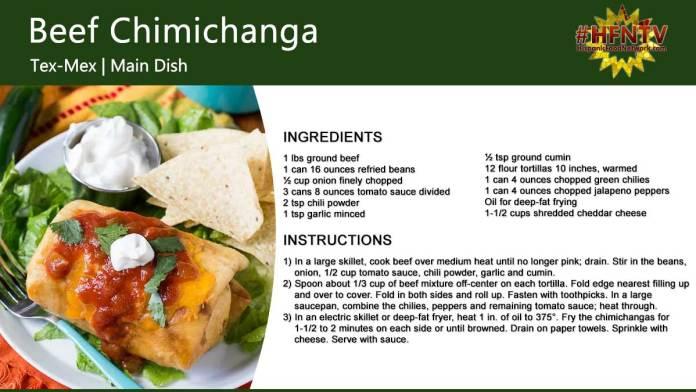 Beef Chimichanga Recipe
