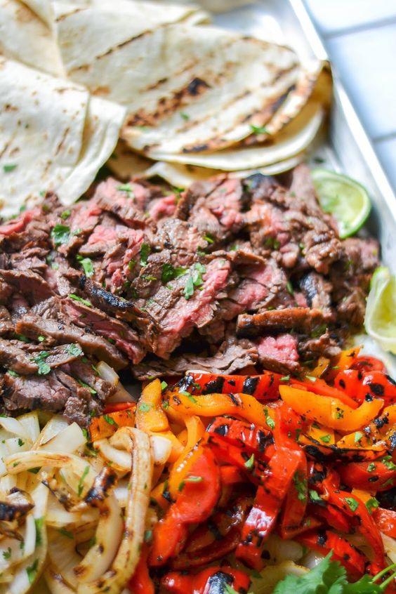 Beef Fajita from Tres Fiestas