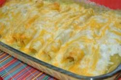 Chicken Enchilada With Homemade Green Sauce