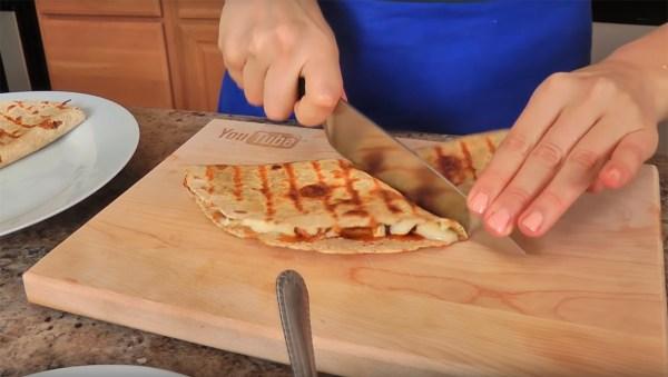Chicken Quesadilla Recipe Laura In The Kitchen The Hispanic Network