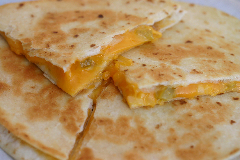 Easy Cheesy Quesadilla Recipe