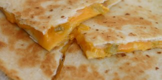 Easy Cheesy Quesadilla Recipe