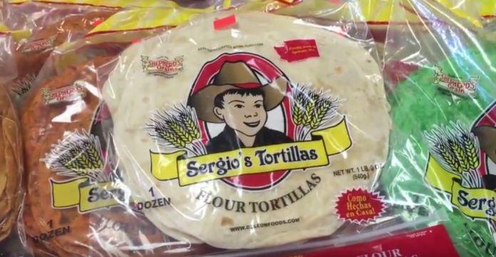 Sergio's Tortillas in Spokane Washington.