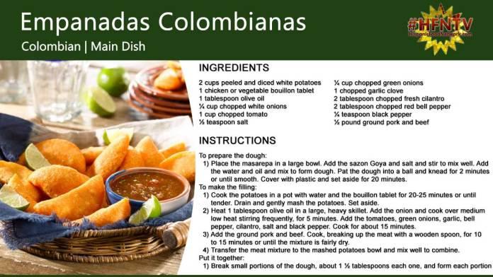 Colombian Empanadas (Empanadas Colombianas)