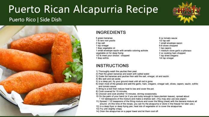 Awesome Puerto Rican Alcapurria Recipe
