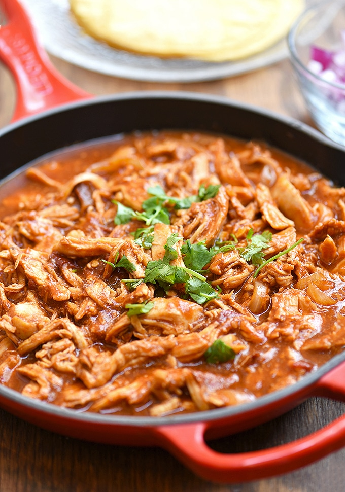 Delicious Mexican Chicken Tinga Recipe Hispanic Food Network