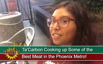 Ta'Carbon Cooking up Some of the Best Meat in the Phoenix Metro!