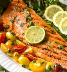Cuban Style Grilled Salmon Recipe