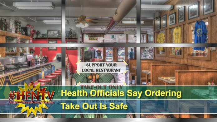 Health Officials Say Ordering Take Out Is Safe