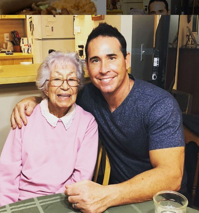Mike Gonzales and Grandmother
