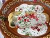 Chiles in Walnut Sauce ~ Chiles en Nogada