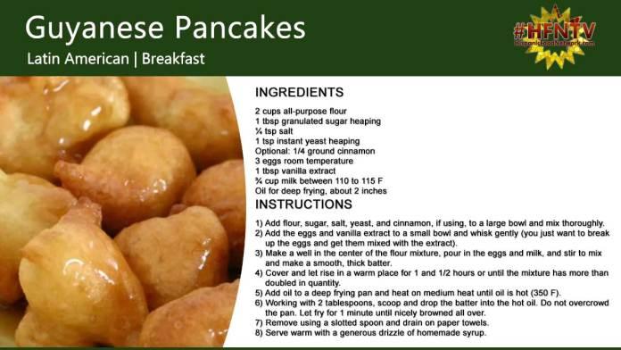 Guyanese Pancakes