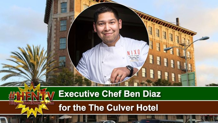 Executive Chef Ben Diaz