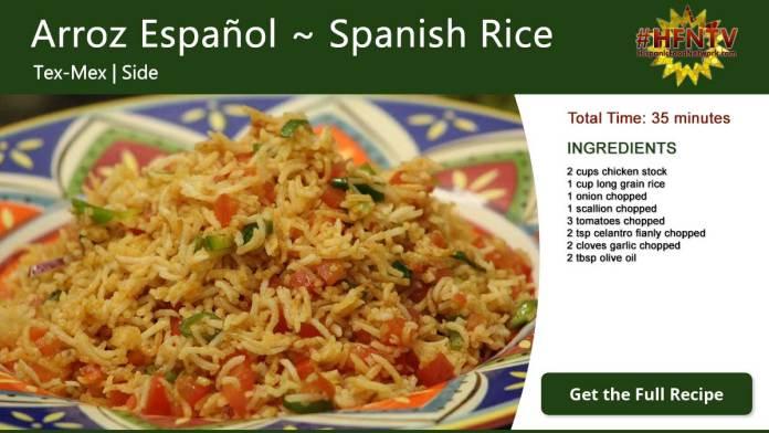 Arroz Español ~ Spanish Rice