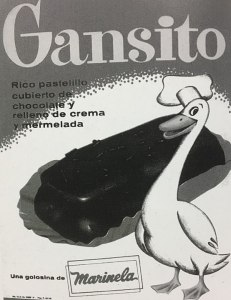 Vintage Gansito Mexico Ad