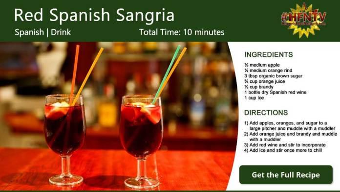 Red Spanish Sangria