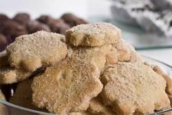 Polvorones de Canela ~ Sugar Cinnamon Cookies