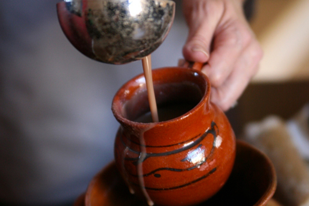 Champurrado Thickened Mexican Hot Chocolate Drink