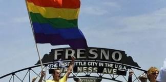 Miles piden derechos para los gays en fresno