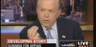 Lou dobbs plays the victim