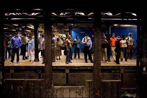 Póster del subway