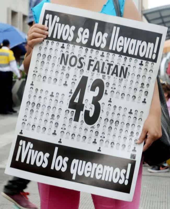 Ayotzinapa: images from the bottom of history