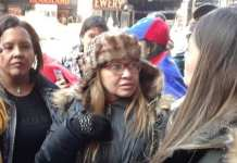 Venezolanos protestan contra el new york times