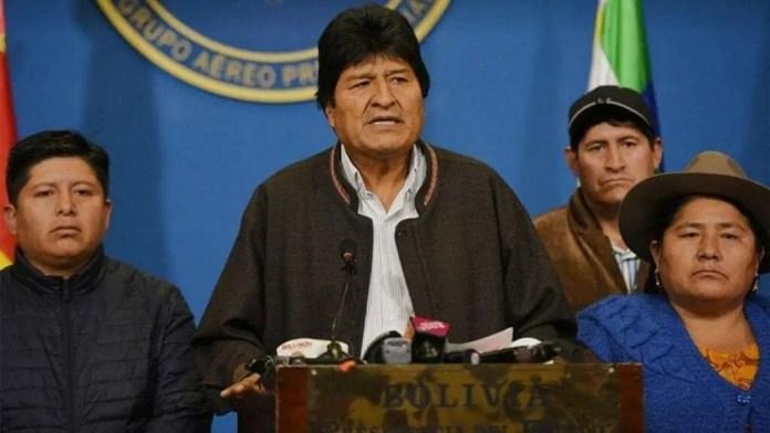 Evo morales renuncia: golpe en bolivia