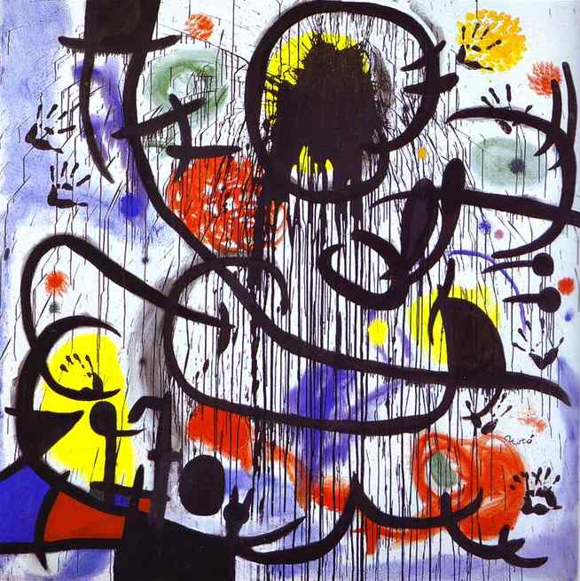 Joan Miró: The Ladder of Escape at the Tate Modern (3/4)