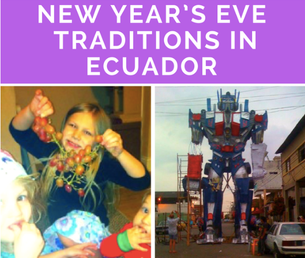 new year's eve traditions in ecuador