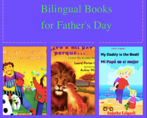 6 bilingual books for father's day