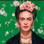 Frida Kahlo Inspired Flower Headband and Children Books
