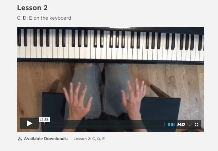 busy kids do piano