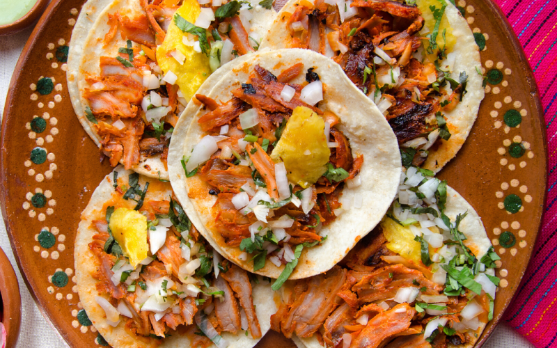 Celebrate National Pork Month With Tacos Al Pastor