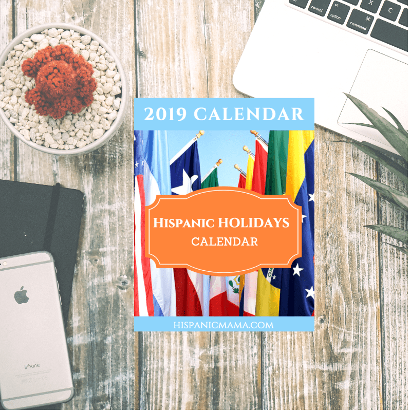 Download our 2019 Hispanic Holidays Calendar