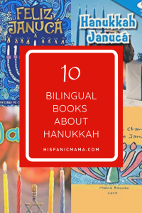 bilingual books about hannukah
