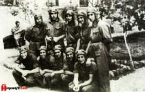 Gəncədəki İspan Kursantlar