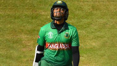 Shakib Al Hasan ने बीच मैच में खोया आपा, अंपायर से भिड़े, स्टंप्स पर मारी लात (Video)