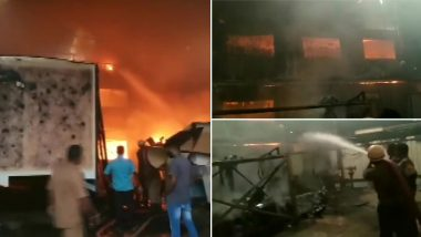 Fire In Thane Medical Shop of Diya Multispeciality Hospital: Fire erupted in Thane Multispeciality Hospital's medical shop, four corona patients shifted from there