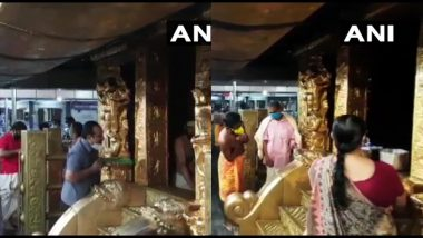 Kerala: Sabarimala temple, closed for months due to COVID19 pandemic, reopens for devotees, bringing negative report of corona mandatory for darshan