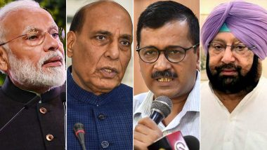 Navratri 2020 Wishes: These leaders, including PM Narendra Modi, Amit Shah, Rajnath Singh, Arvind Kejriwal, greeted Navratri
