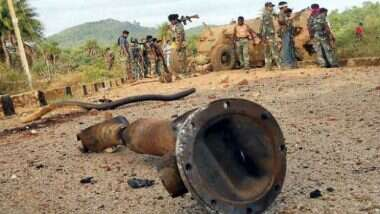 Gadchiroli Encounter: Encounter between police and Naxalites in Gadchiroli, Maharashtra, five Naxalites killed