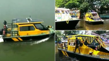India's First Water Taxi: India's first water taxi started from Alappuzha in Kerala, equipped with these services