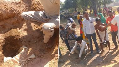 Child Falls Into Deep Borewell In MP: 3-year-old boy fell in 200 feet deep borehole in Madhya Pradesh, army engaged in rescue operation