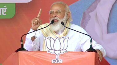 Bihar Assembly Elections 2020: Those who bring 'Jungle Raj' in Bihar face problems with 'Bharat Mata Ki Jai' and 'Jai Shri Ram' - PM Modi