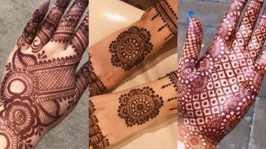 Mahashivratri 2021 Mehndi Designs: महाशिवरात्रि पर अपने हाथों पर रचाएं मेहंदी, देखें खूबसूरत डिजाइन्स
