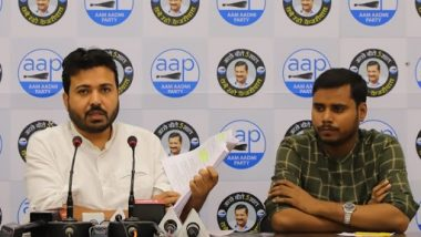 Big charge of Aam Aadmi Party leader Durgesh Pathak, said- BJP ruined MCD by looting, now going to sell Delhi's land