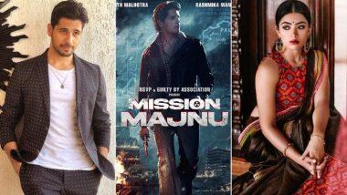 Mission Manju: सिद्धार्थ मल्होत्रा की फिल्म मिशन मंजू से साउथ की नामी एक्ट्रेस रश्मिका मंदाना करेंगी डेब्यू